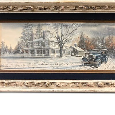 Rural Free Delivery, 1928 by Ken Eberts classic car
