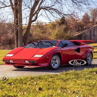 1984 Lamborghini Countach LP5000 S by Bertone classic car
