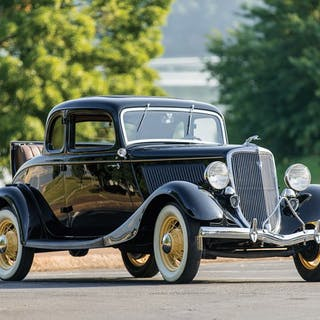 1934 Ford V-8 DeLuxe Five-Window Coupe  classic car