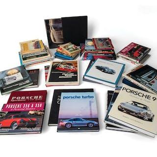 Porsche Library classic car