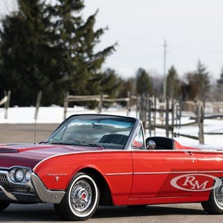 1962 Ford Thunderbird Sports Roadster  classic car