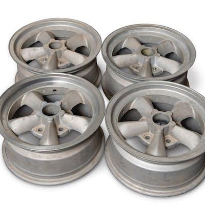 Set of Four Torq Thrust Wheels classic car