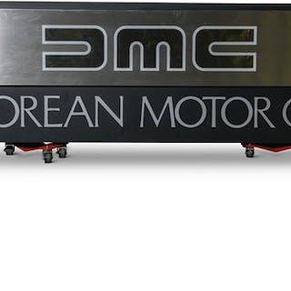 DMC DeLorean Motorcars Sign classic car