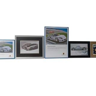 Porsche Carrera GT Artwork classic car