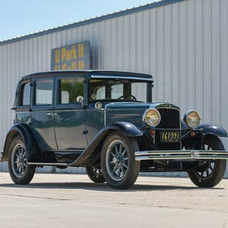 1929 Nash Series 420 Standard Six Landau Sedan  classic car
