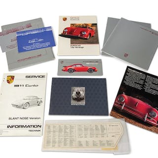 Porsche 911 Carrera and Turbo Sales Literature classic car