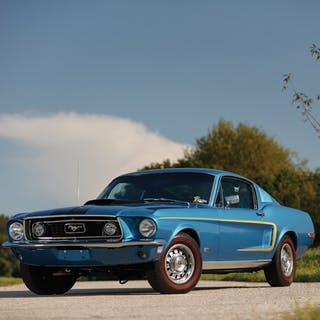 1968 Ford Mustang 428 Cobra Jet  classic car