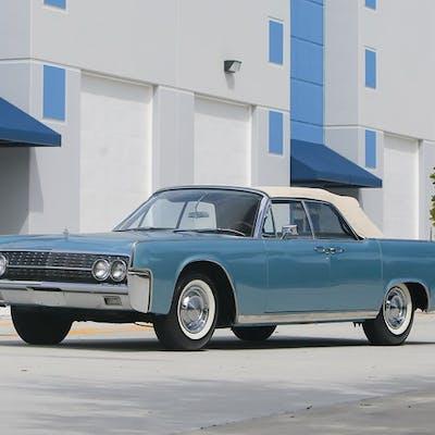 1962 Lincoln Continental Convertible  classic car