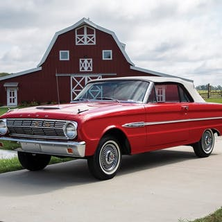 1963 Ford Falcon Futura Sport Convertible  classic car