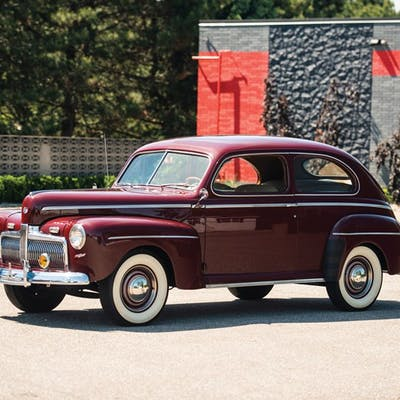 1942 Ford Super Deluxe Two Door Coupe Classic Car Barnebys