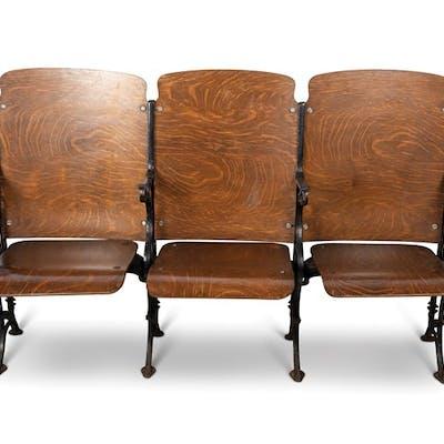 Wood Auditorium Seats classic car