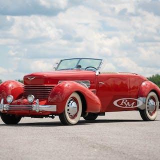 1937 Cord 812 Supercharged Phaeton  classic car