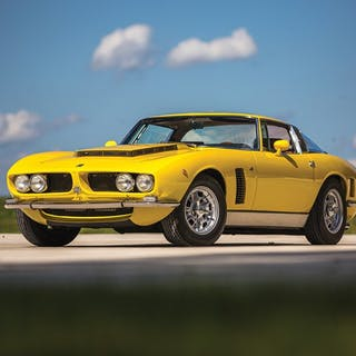 1968 Iso Grifo GL Series I by Bertone classic car