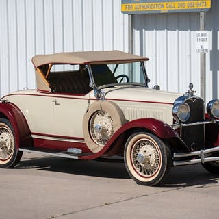 1928 Dodge Brothers Victory Six Sport Roadster  classic car