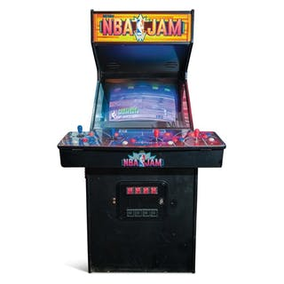 NBA Jam Arcade Game by Midway classic car