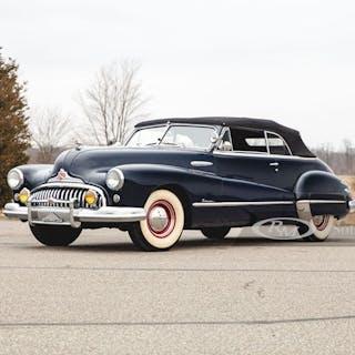 1948 Buick Roadmaster Convertible  classic car