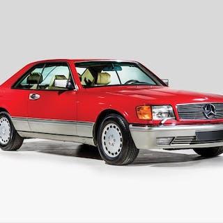 1988 Mercedes-Benz 560 SEC  classic car