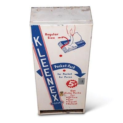 Kleenex Tissues Pocket-Pack Wall Dispenser classic car