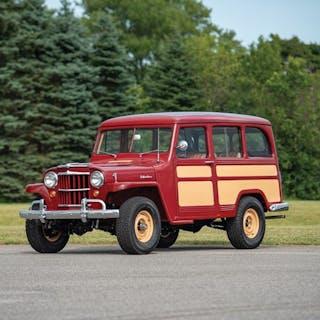 1955 Willys 4-Wheel-Drive Station Wagon  classic car