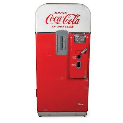 Vendo Coca-Cola Bottle Vending Machine, Model XF39D classic car