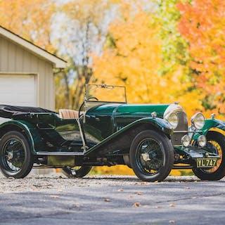 1925 Bentley 3-Litre Speed Model Tourer by Vanden Plas classic car