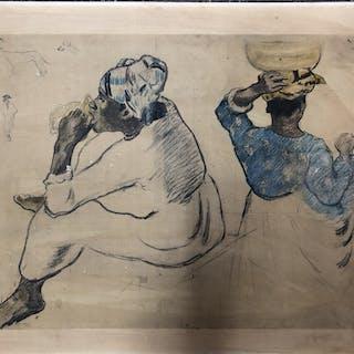 Tryck efter Paul Gauguin