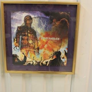 """Iron Maiden The Wicker man, (12"""" singel Pic)"""