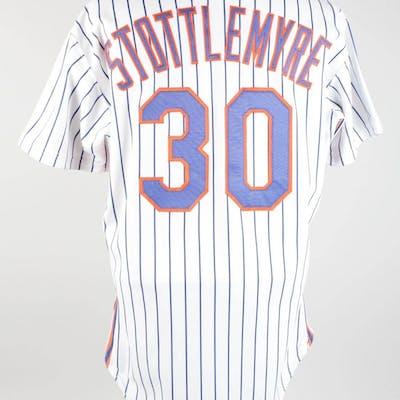 b6998ca351bb5 1990 Mel Stottlemyre Game-Worn Jersey Mets – COA Penny Marshall ...