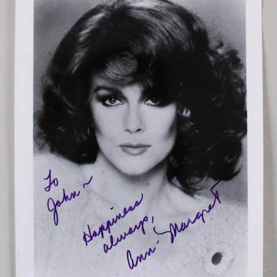 Ann Margret Signed Photo – COA JSA