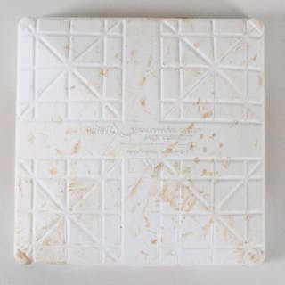 2010 Twins vs. Yankees ALDS Game 3 Game-Used Second Base – COA Steiner & MLB
