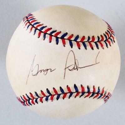 George Steinbrenner Signed All-Star Ball Yankees – COA JSA