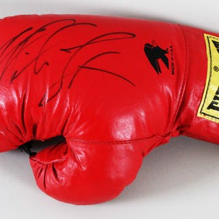 Mike Tyson Signed Boxing Glove – COA JSA