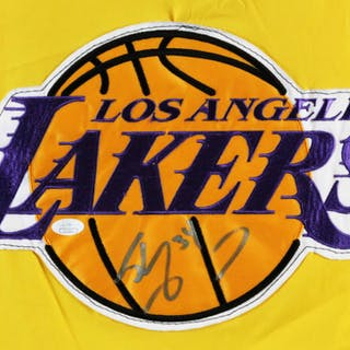Shaquille O'Neal Worn Signed Cape Lakers – COA JSA & 100% Authentic Team