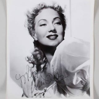 Ann Sothern Signed Photo – COA JSA