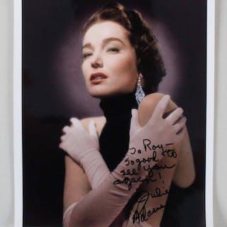 Julie Adams Signed Photo – COA JSA