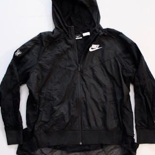 Serena Williams Game-Used Custom Nike Tennis Jacket. 2018 BNP Paribas