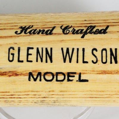 Glenn Wilson Game-Used Bat Phillies – COA