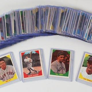 1960 Fleer Baseball Greats Card Set Complete