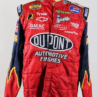 NASCAR Race-Worn Jacket Jeff Gordon Race Team