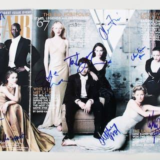 1998 Vanity Fair Signed Magazine (11) Natalie Portman, Vince Vaughn