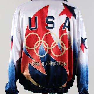 1996 Olympic Baseball Team Jacket USA Bronze Medal