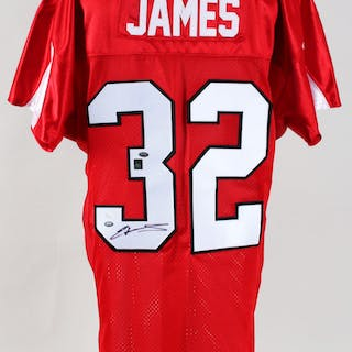 Edgerrin James Signed Jersey Cardinals – COA JSA