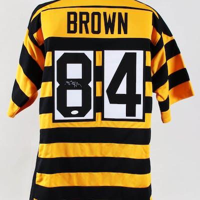 on sale 0f835 fff57 Antonio Brown Signed Jersey Steelers – COA JSA | Barnebys