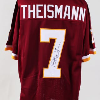 Joe Theismann Signed Jersey Redskins – COA JSA