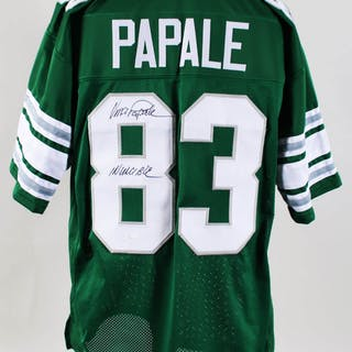 Vince Papale Signed Jersey Eagles – COA JSA