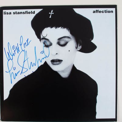 Lisa Stansfield Signed Album Cover Affection – COA JSA