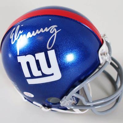 Eli Manning Signed Mini-Helmet Giants – COA PAAS