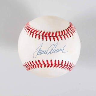 Tom Seaver Signed Baseball Mets – COA JSA