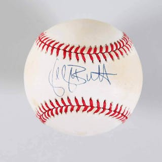 George Brett Signed Baseball Royals – COA JSA