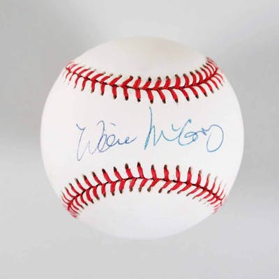 Willie McCovey Signed Baseball Giants – COA JSA